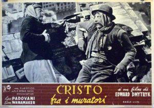 Cristo fra i Muratori Film Poster