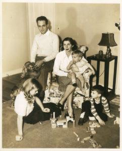 Di Donato Family Portrait c. 1949