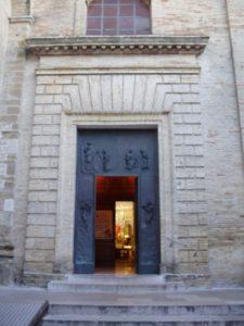 Church in VASTO where Geremio and Annunziata were married