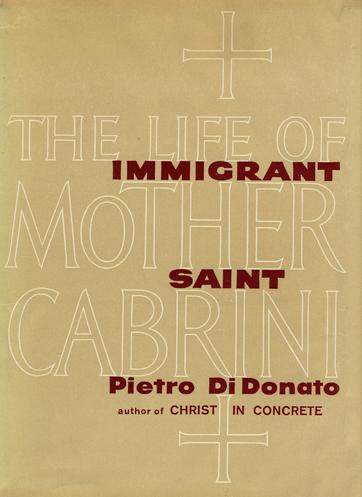cover of Immigrant Saint novel