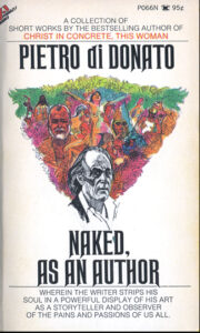 front cover of paperback edition of Naked As An Author by Pietro Di Donato