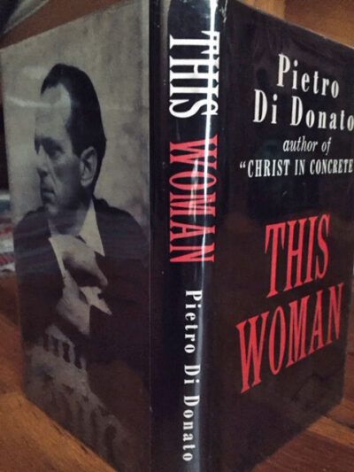photo of cover of hardcover novel, This Woman