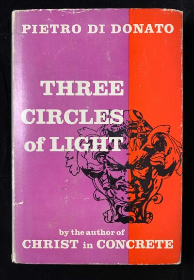 image of hardcover edition of Three Circles of Light novel
