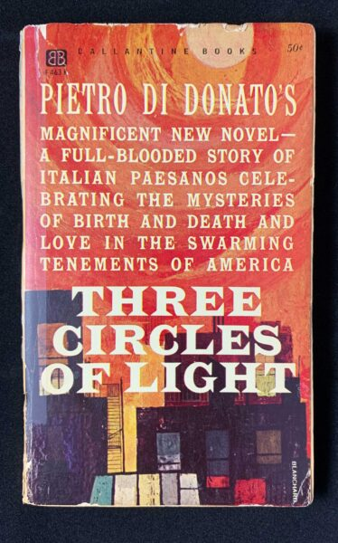 cover image of Three Circles of Light novel - paperback edition