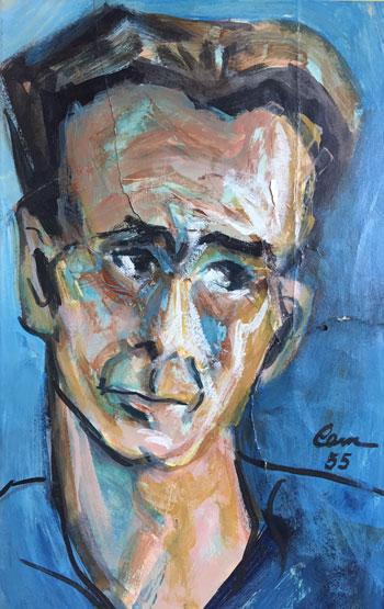 portrait in oils of Pietro DiDonato